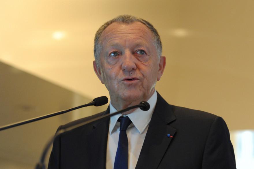 Jean-Michel Aulas le 15 octobre 2014