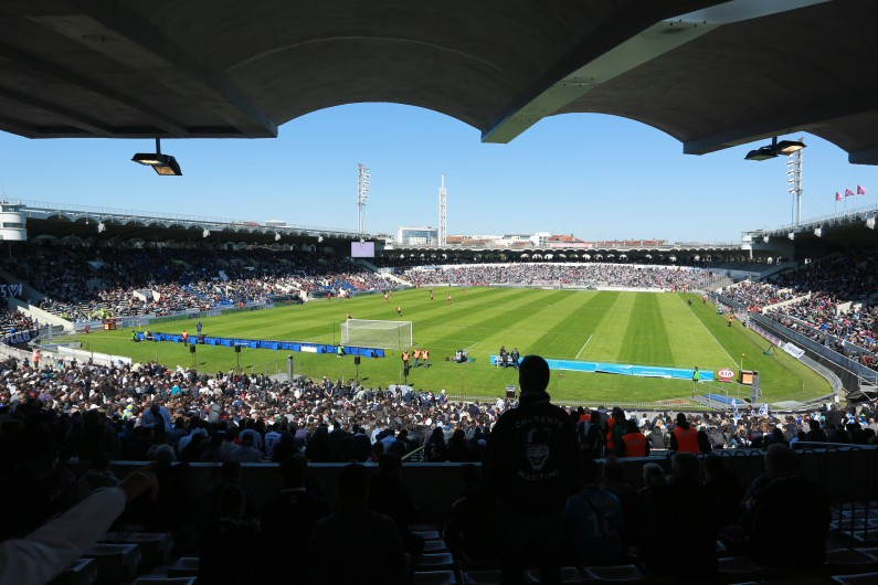 Le stade Jacques-Chaban-Delmas à Bordeaux, le 5 avril 2015