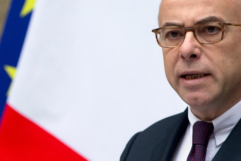 Bernard Cazeneuve lors d'une conférence de presse au ministère de l'Intérieur, le 16 janvier 2015. (illustration)