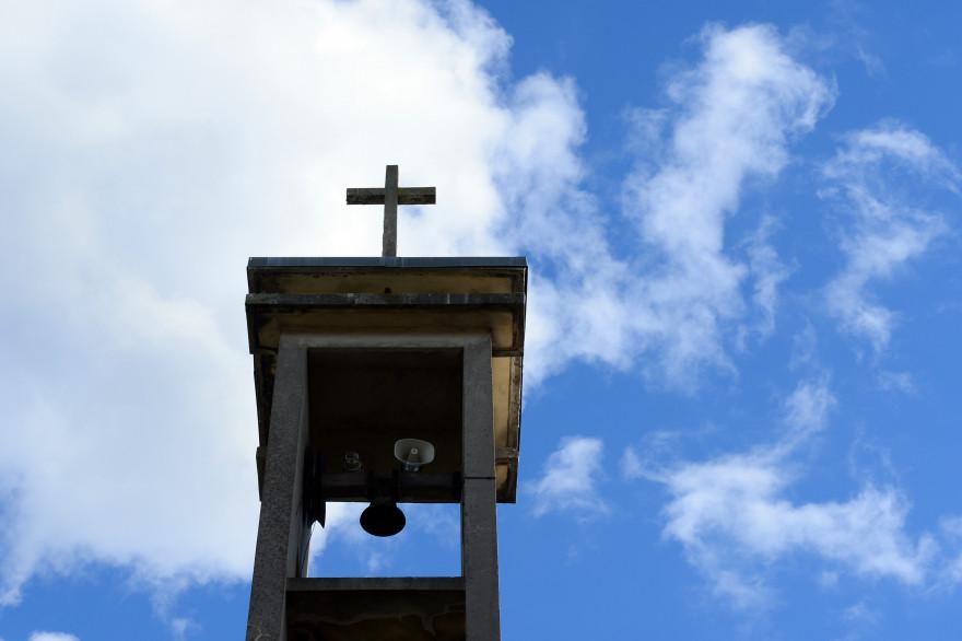 Le clocher de l'église Saint-Éloi de Vierzon (illustration)