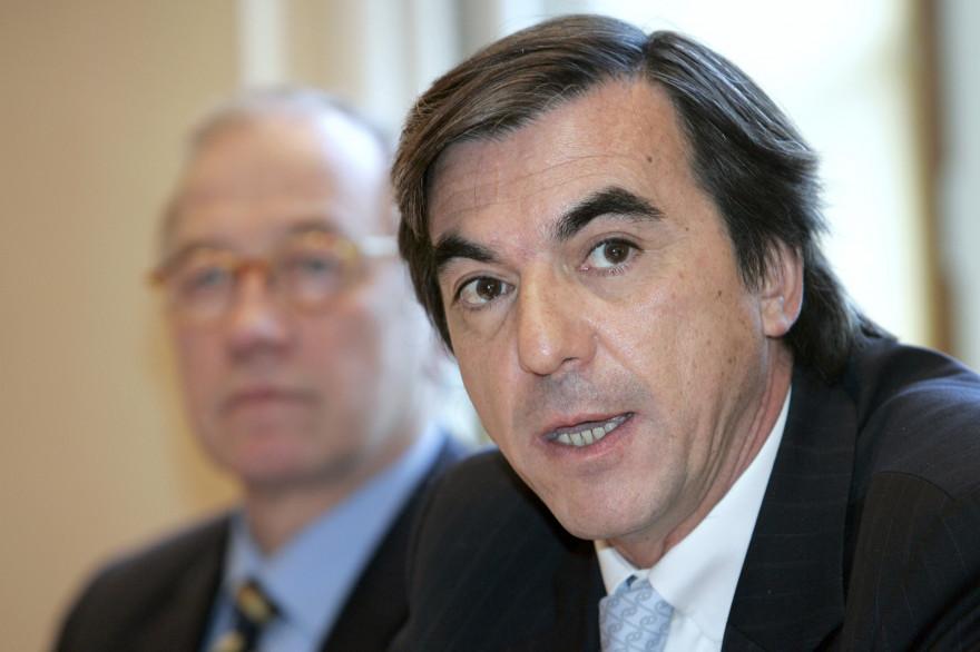 Arnaud Claude, associé de Nicolas Sarkozy, en janvier 2006