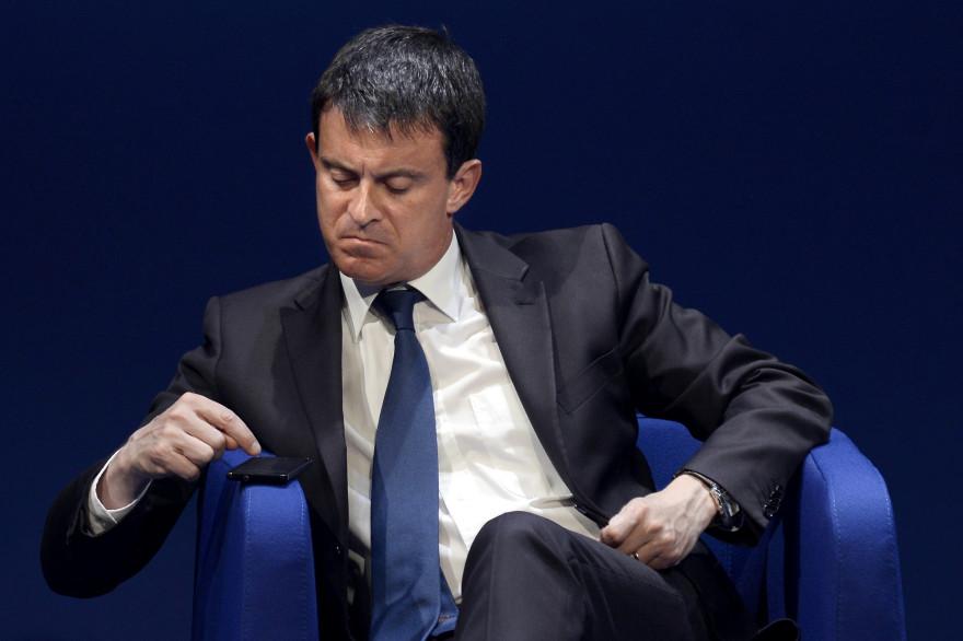 Manuel Valls le 8 juillet 2013 à Lyon (archive)