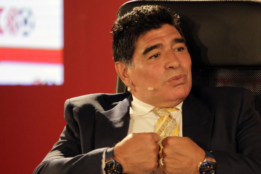 Maradona a toujours été critique envers Joseph Blatter
