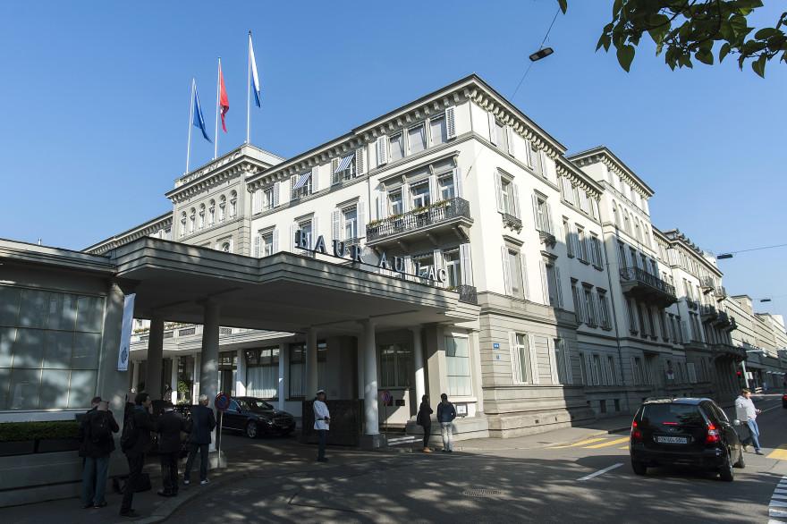 Les arrestations ont eu lieu mercredi matin à l'hôtel de luxe du Baur au Lac, à Zurich