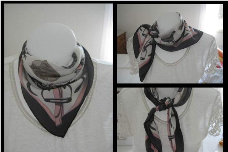 Un foulard Hermès