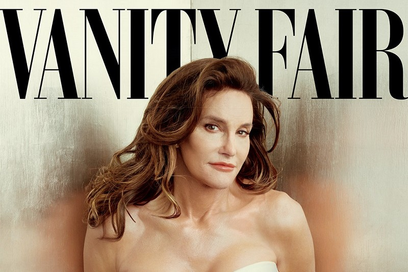 La photo de couverture de Vanity Fair où pose Caitlyn Jenner.
