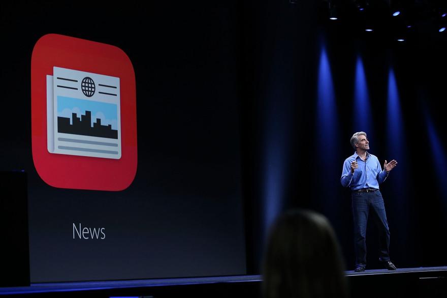 Apple a présenté News, nouvelle application lancée dans le sillage d'iOS 9
