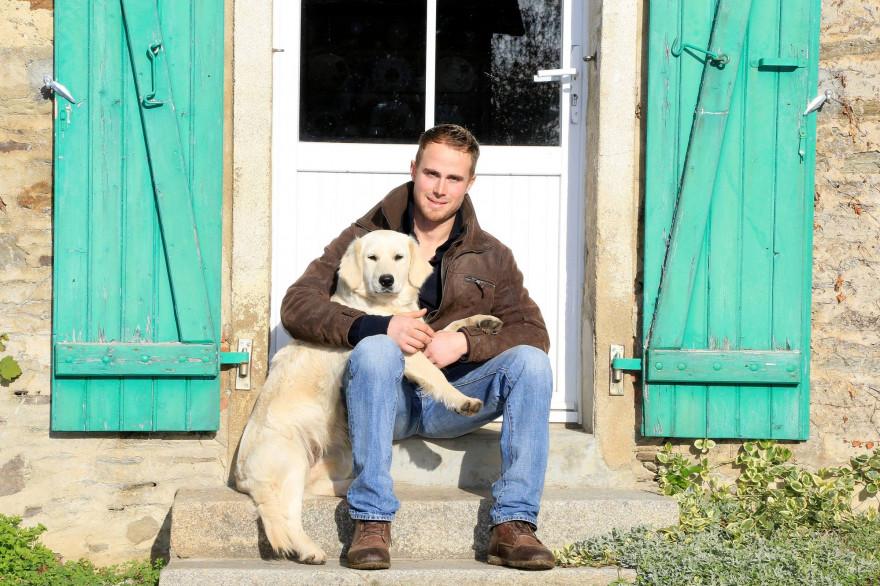 """Jacky est l'un des agriculteurs à participer à """"L'amour est dans le pré"""""""