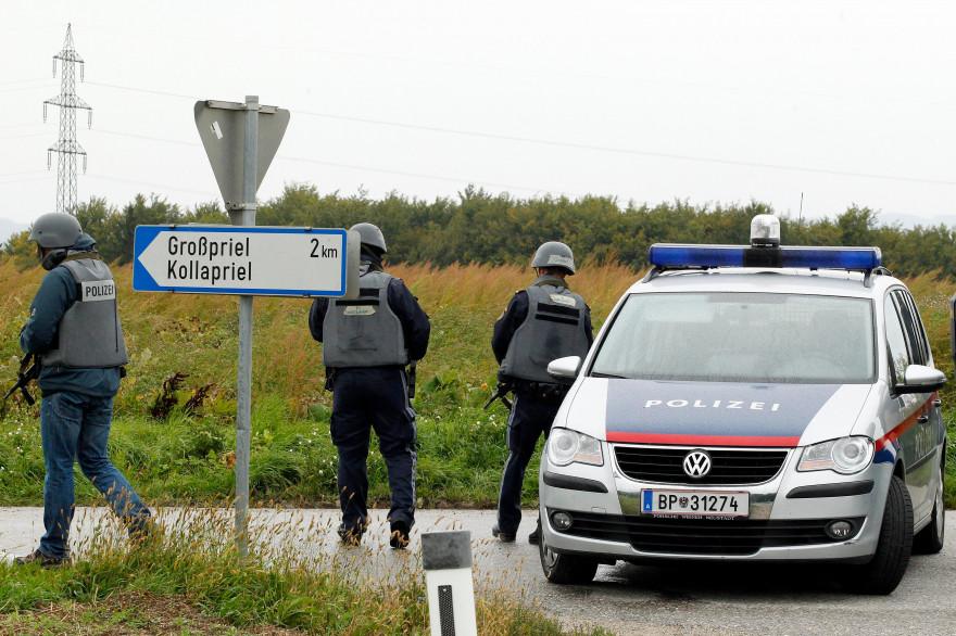 Des policiers autrichiens (archive).
