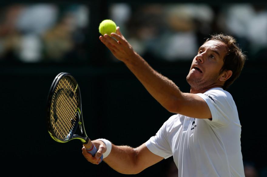 Richard Gasquet à Wimbledon en 2015