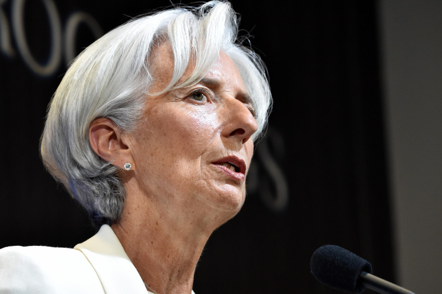 Christine Lagarde, directrice du FMI