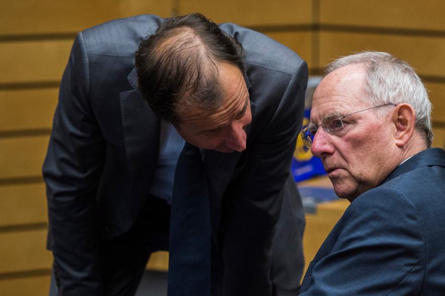 Le ministre allemand des finances Wolfgang Schäuble, à Bruxelles, le 11 juillet 2015
