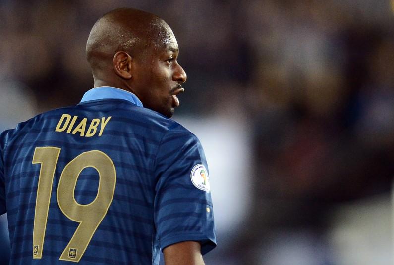 Abou Diaby en équipe de France en septembre 2012