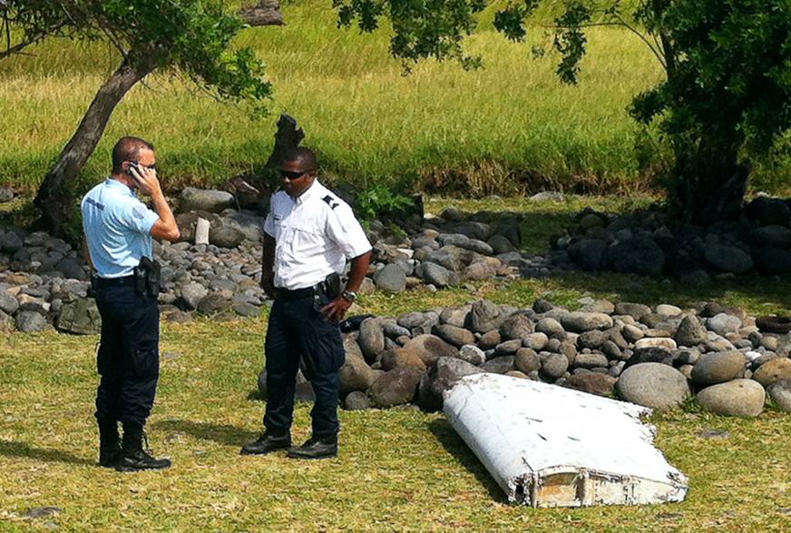 Le débris a été retrouvé sur la commune de Saint-André, à l'est de l'île de la Réunion