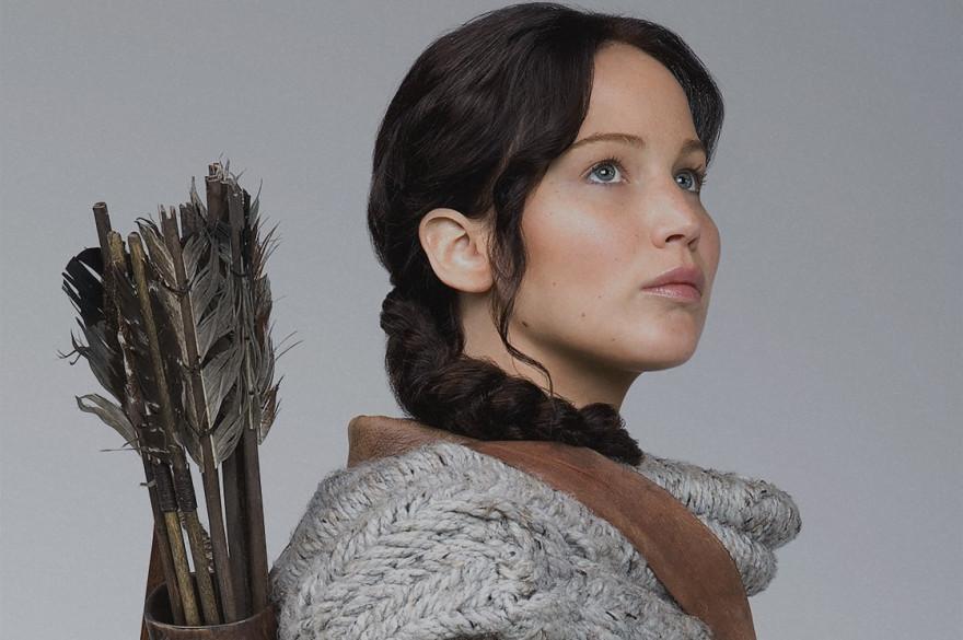 """Jennifer Lawrence incarne Katniss Everdeen dans la trilogie """"Hunger Games"""""""