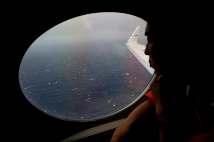 La zone de recherches du MH370 dans l'océan Indien (archives).