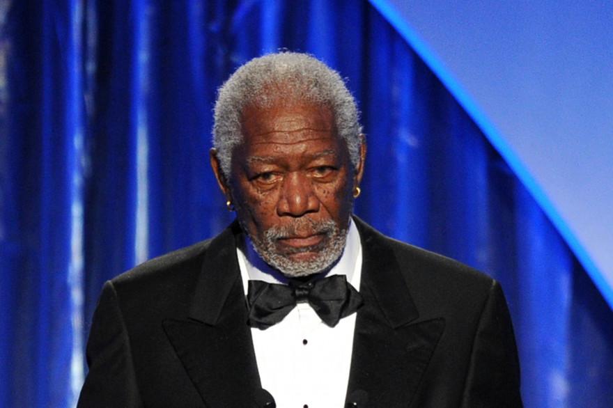 Morgan Freeman, en janvier 2014