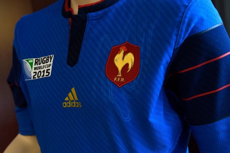 Le maillot du XV de France pour la Coupe du monde de rugby 2015