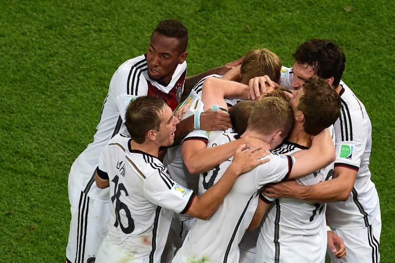 L'Allemagne a été sacrée championne du monde au Brésil en 2014