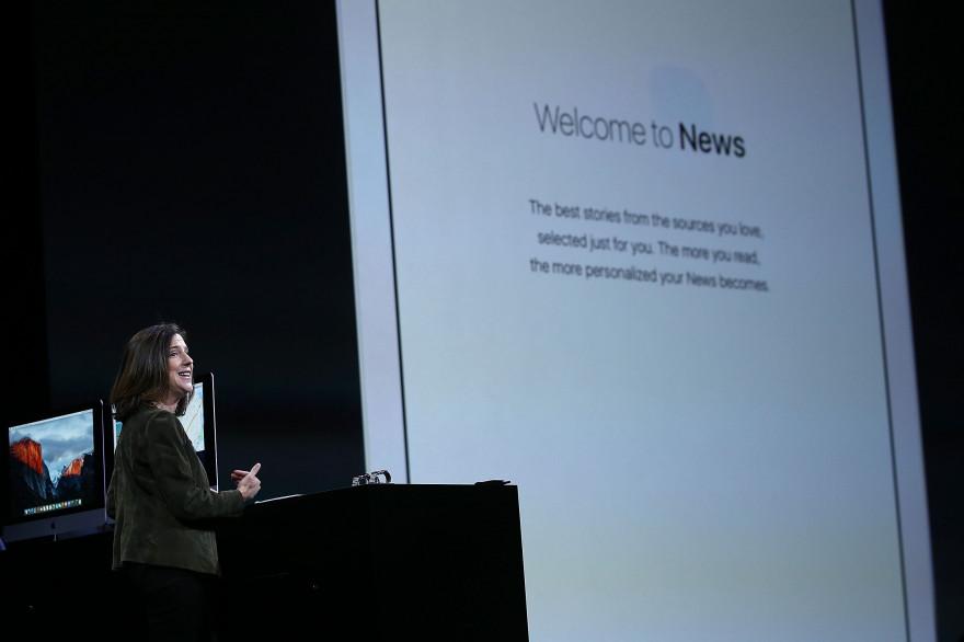 Apple News, nouvelle application lancée avec iOS 9