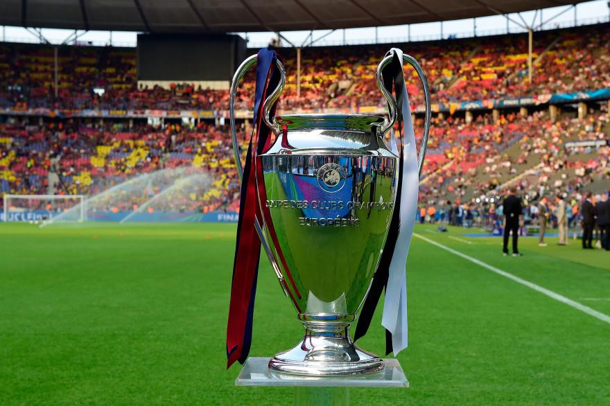 Le trophée de la Ligue des champions en juin 2015 à Berlin