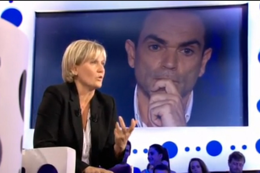 """Nadine Morano dans """"On n'est pas couché"""" le 26 septembre 2015"""