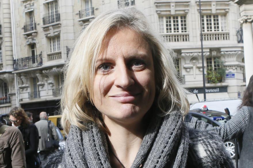Valérie Debord, le 15 octobre 2015 à Paris
