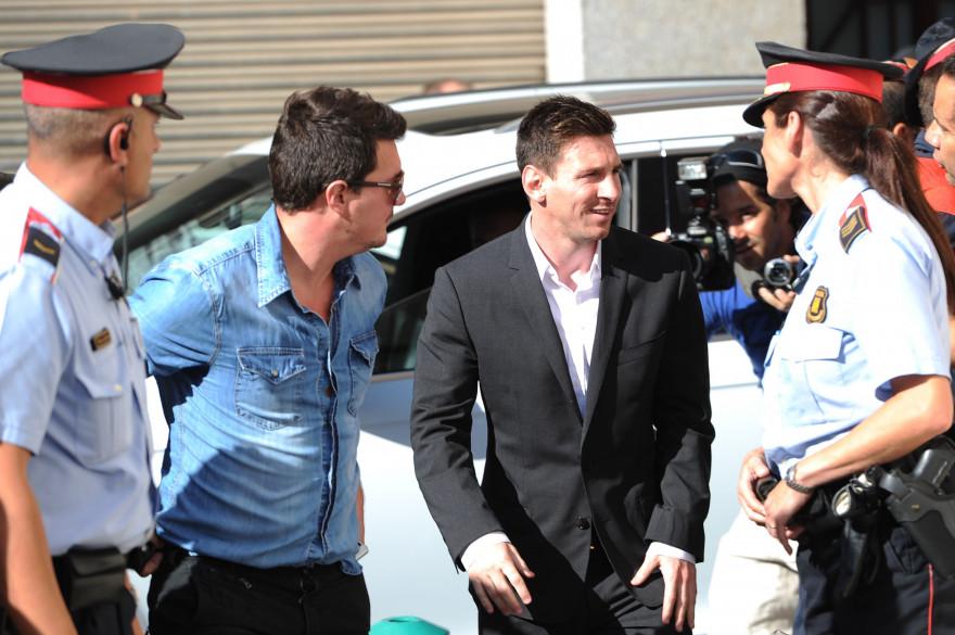 Lionel Messi en septembre 2013