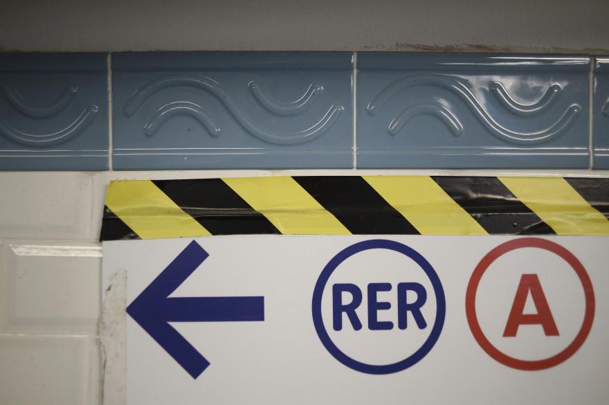 Le RER A (illustration)