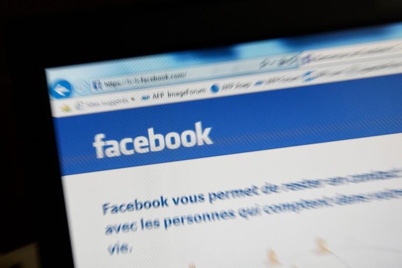 Le réseau social Facebook (illustration)
