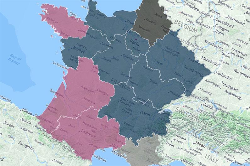 Estimations BVA pour les élections régionales