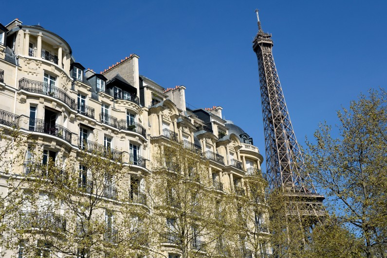 Un immeuble parisien (illustration).