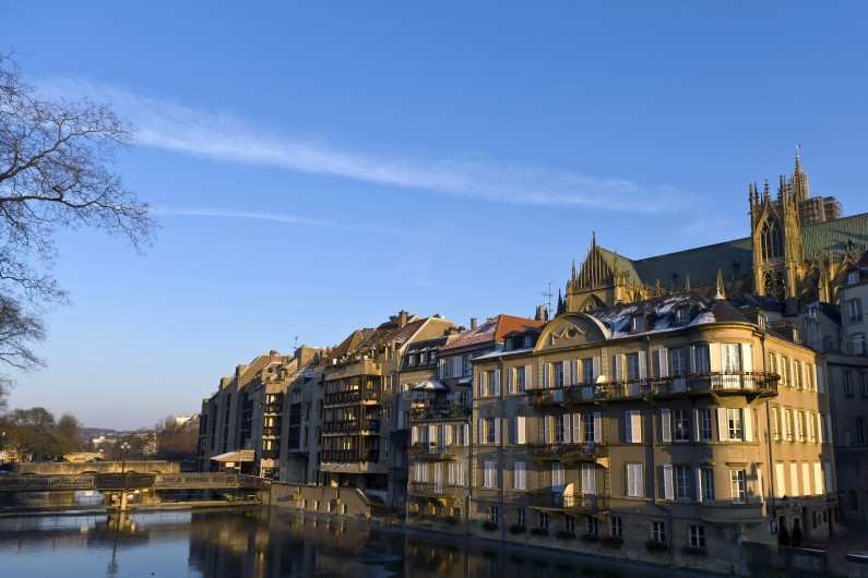 La ville de Metz photographiée le 6 février 2012