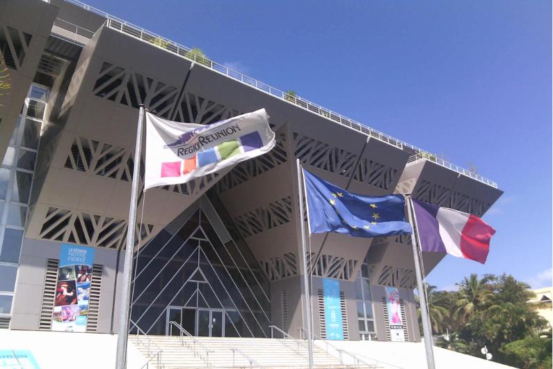 L'Hôtel de région de l'île de La Réunion