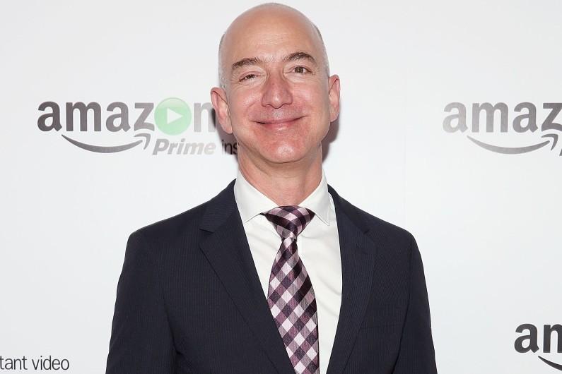 Jeff Bezos, patron d'Amazon