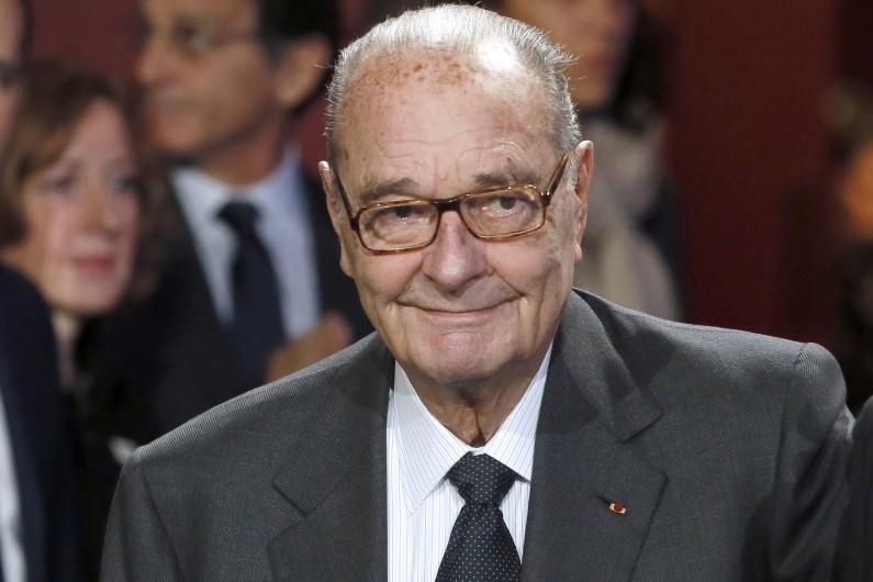 Jacques Chirac, en novembre 2014.