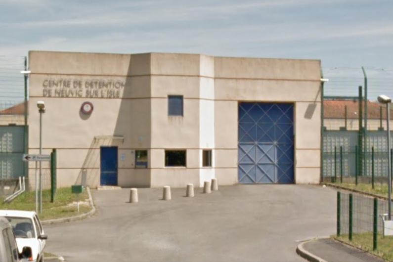 Le centre de détention de Neuvic en Dordogne.