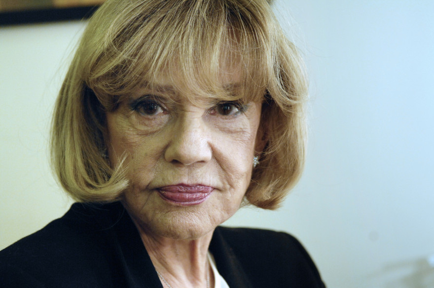 Jeanne Moreau le 16 janvier 2008