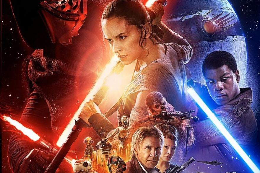 """Un détail de l'affiche officielle de """"Star Wars 7"""""""