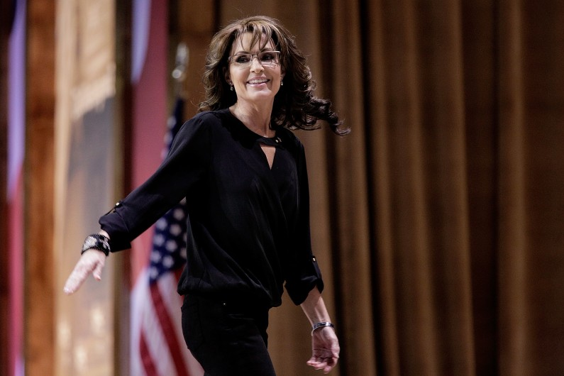 Sarah Palin voit dans Donald Trump un candidat anti-establishment