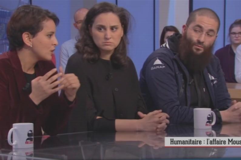 Najat Vallaud-Belkacem a refusé de répondre aux propos d'Idriss Sihamedi sur le plateau du Supplément.