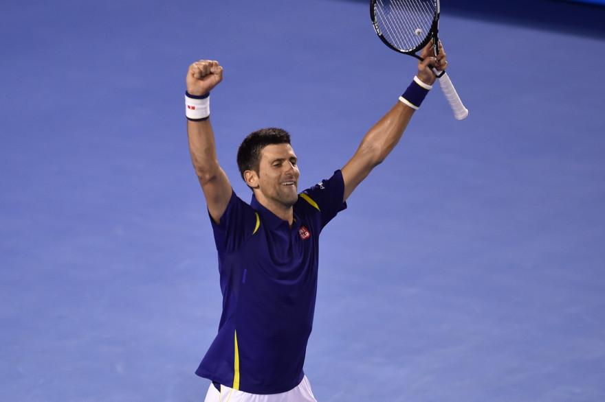 Novak Djokovic jeudi 28 janvier à Melbourne