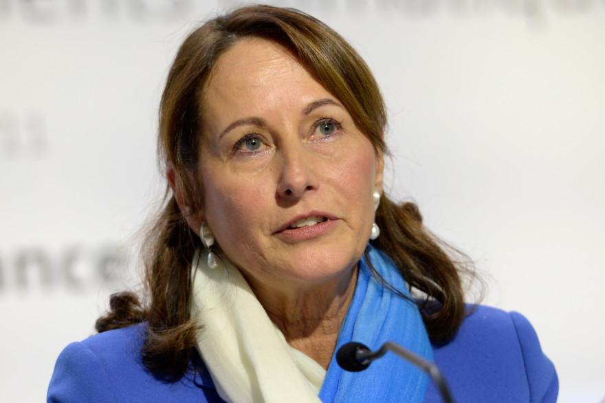Ségolène Royal, ministre de l'Environnement, de l'Énergie et de la Mer, chargée des Relations internationales sur le Climat.