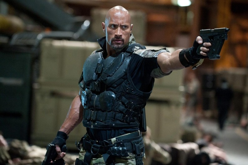 "Dwayne Johnson dans ""G.I Joe : Conspiration"""