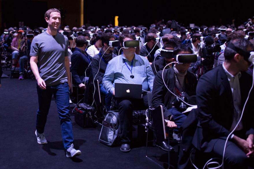 La mise en scène de Mark Zuckerberg à la conférence Samsung a suscité le malaise chez de nombreux observateurs