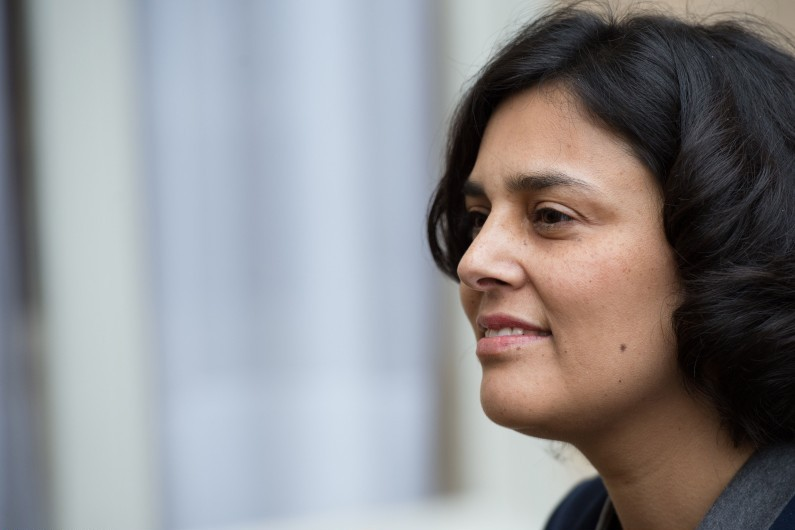 La ministre du Travail Myriam El Khomri, le 18 février 2016