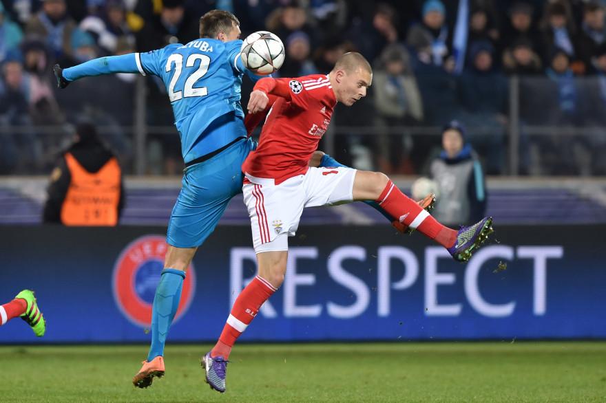 Comme au match aller, le Benfica Lisbonne a de nouveau battu le Zenit à la dernière minute de la rencontre.