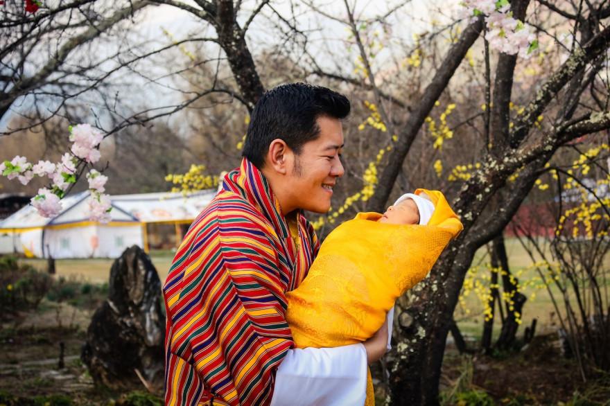 Le royal baby du Bhoutan va grandir dans un pays où le PIB a été remplacé par le BNB (bonheur national brut)