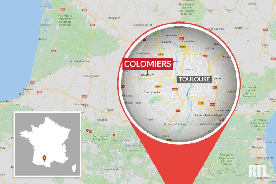La ville de Colomiers, près de Toulouse (31).