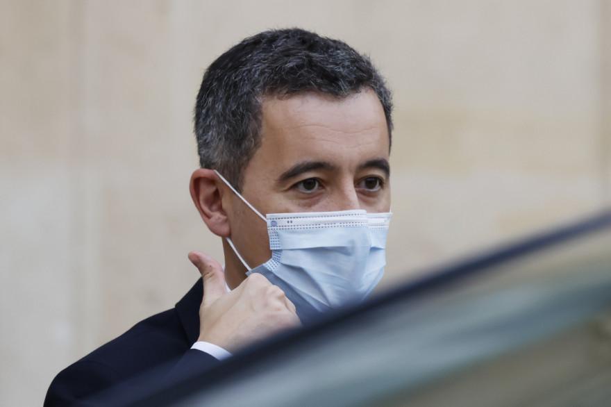Le ministre de l'Intérieur, Gérald Darmanin, à l'Élysée le 2 décembre 2020.